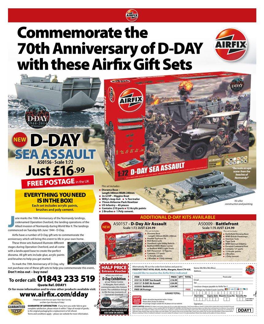 Airfix D-Day advert