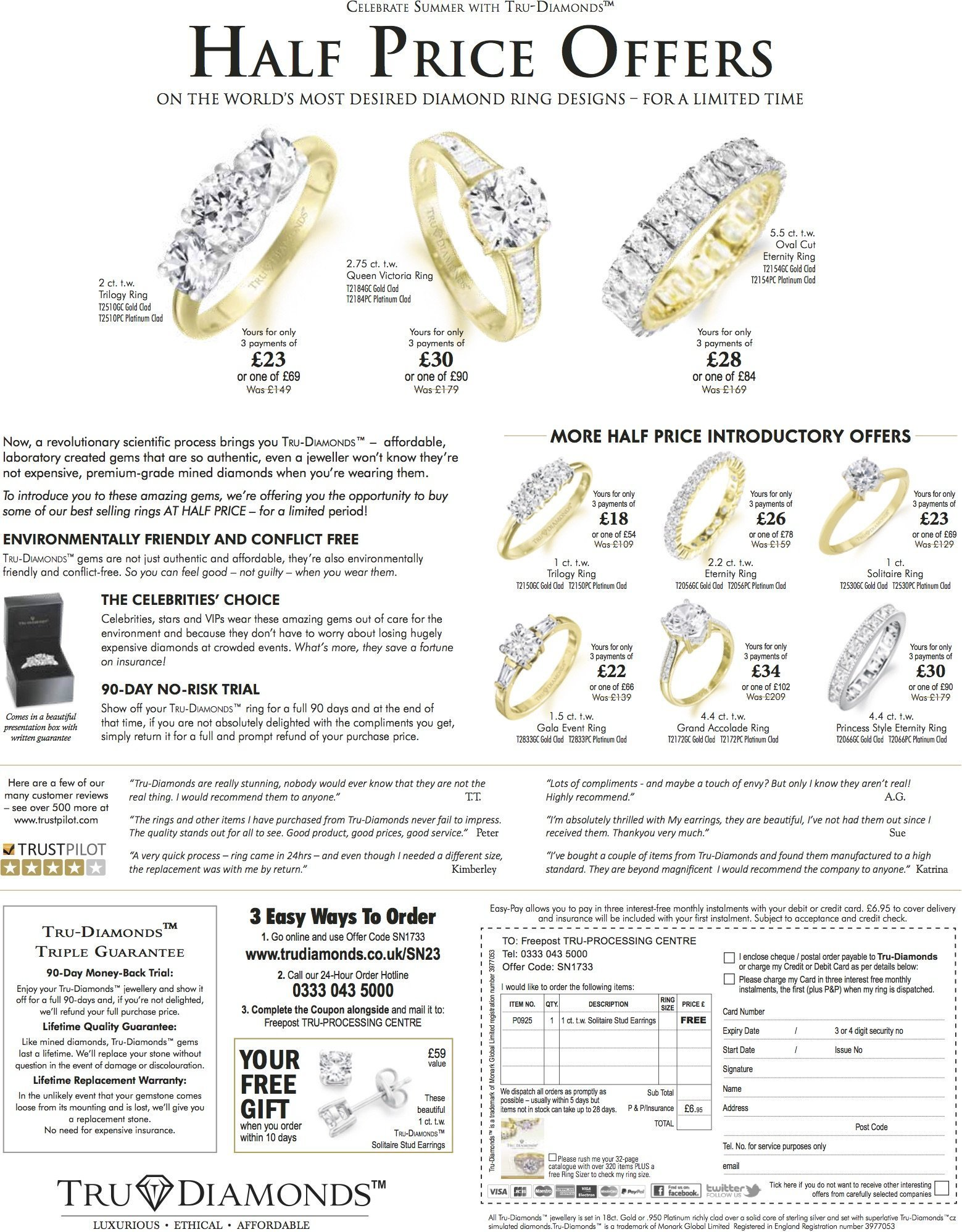 Trudiamonds Advert